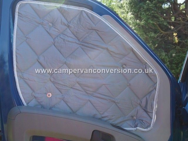 Insulation van and window on pinterest for Window insulation rating