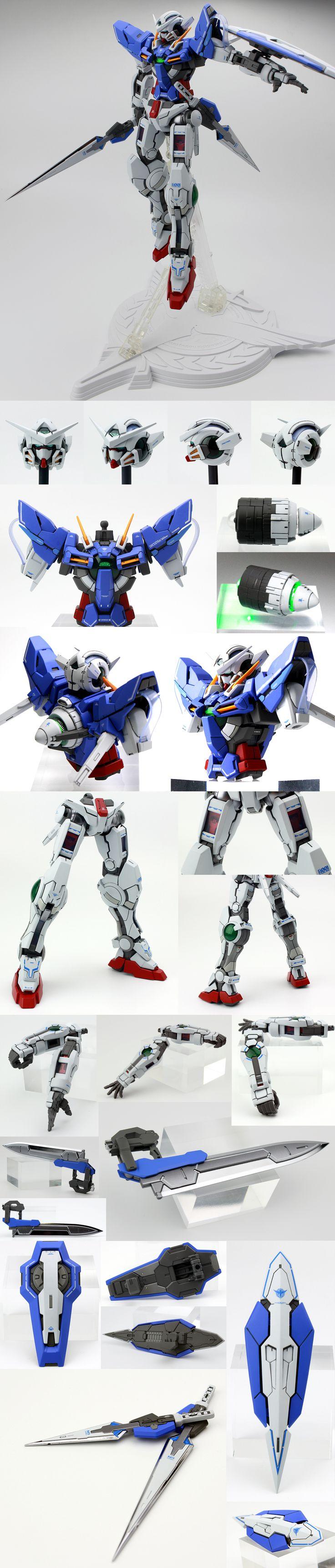 ★★ 1/100 MG ガンダム エクシア 塗装済完成品 ★★ - ヤフオク!