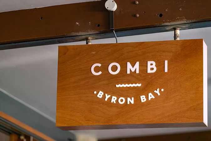 Combi Cafe, making us blush! | Concrete by Slabshapers | Benchtops & Furniture | Byron to Newcastle
