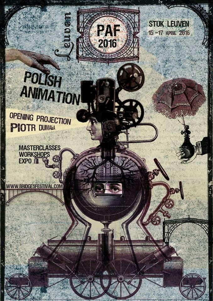 """Polish Animation"" poster by Ryszard Kaja"