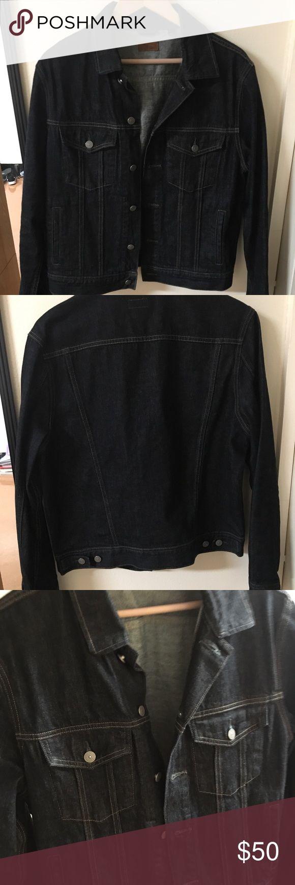 Mens Denim Jacket from J. Crew - Size Medium Never worn mens jean jacket from J Crew. Size Medium. J. Crew Jackets & Coats