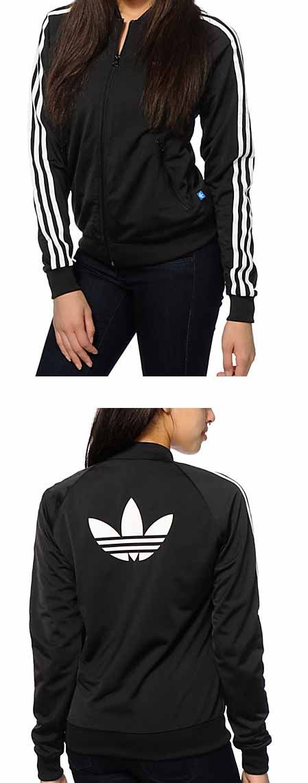adidas Superstar Black Track Jacket