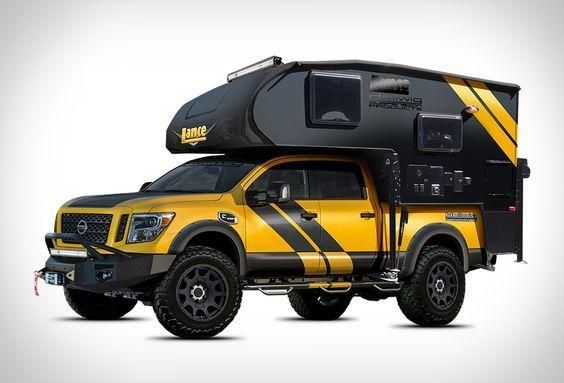 Nissan Hellwig Titan XD Camper byHellwig Suspension Productsin &Lance Camper