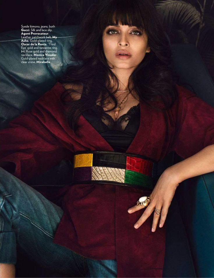 #Fahion #Editorial Our Marisela Slip on Aishwarya Rai Bachchan in GQ India
