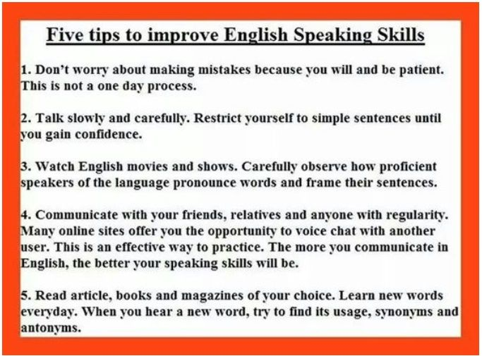 how to start speaking english fluently