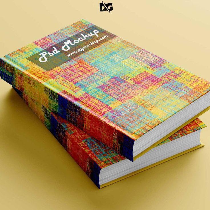 Cover Book Design PSD Mock-up by arunrameshimpex.deviantart.com on @DeviantArt