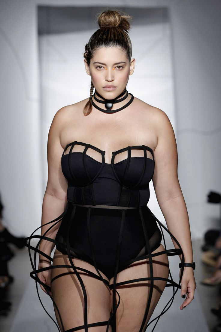"""The Latina was the first plus-size model to walk the runways of NYFW in 2014.""""It's all about being comfortable in your own skin,"""" she told Variety Latino. """"There is no wrong way to be a woman.""""   - HarpersBAZAAR.com"""