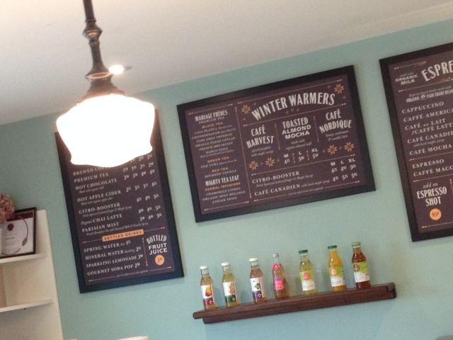 menus & soda pop