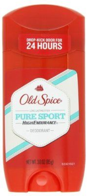 Old Spice High Endurance Pure Sport Scent Men's Deodorant 3 Oz (Pack of 4)