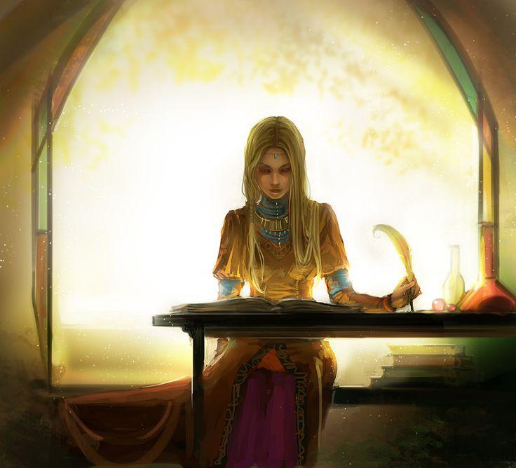 Studing of Magic by anndr.deviantart.com on @DeviantArt