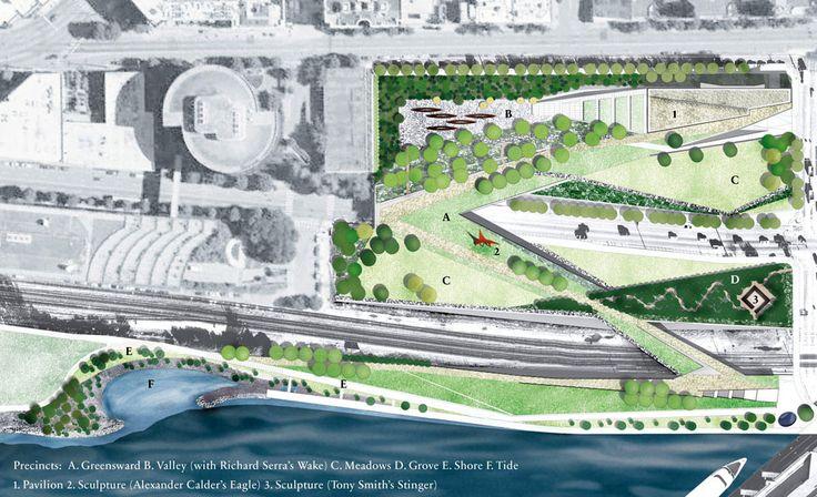 17 olympic sculpture park by Charles Anderson – Atelier ps « Landscape Architecture Works | Landezine