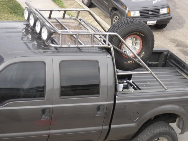 Truck Roof Rack Building A Heavy Roof Rack