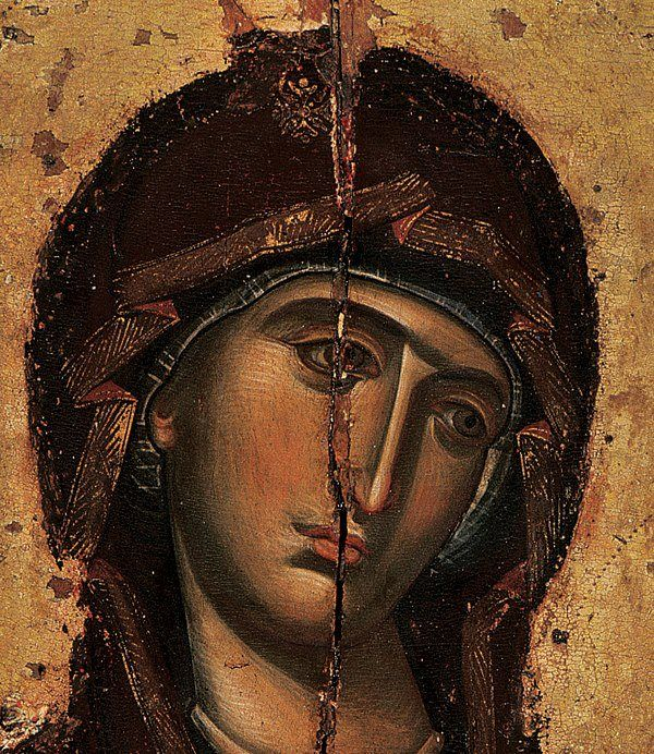 A beautiful icon of the Theotokos #orthodox #christianity