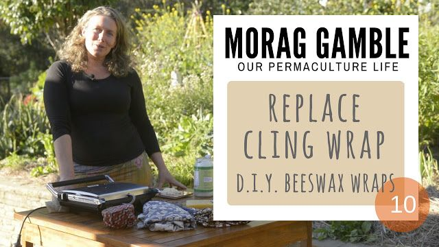 Our Permaculture Life: Five Easy Steps to Make Cheap Beeswax Wraps & Reduce Clin…