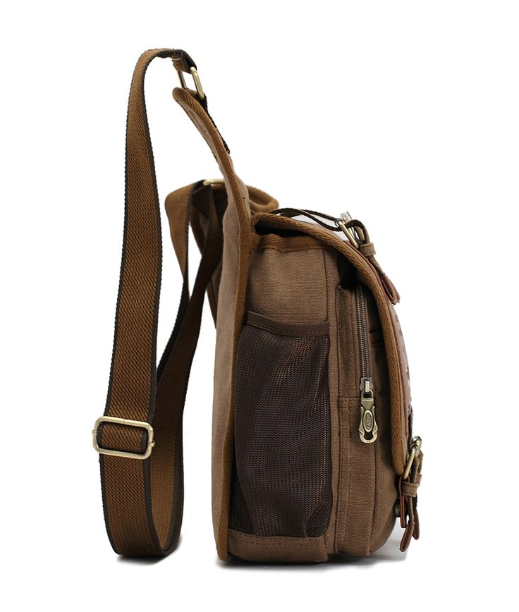 Мужская мальчиков холст и кожа военная сумка слинг школьные сумки, принадлежащий категории Сумки через плечо и относящийся к Багаж и сумки на сайте AliExpress.com | Alibaba Group