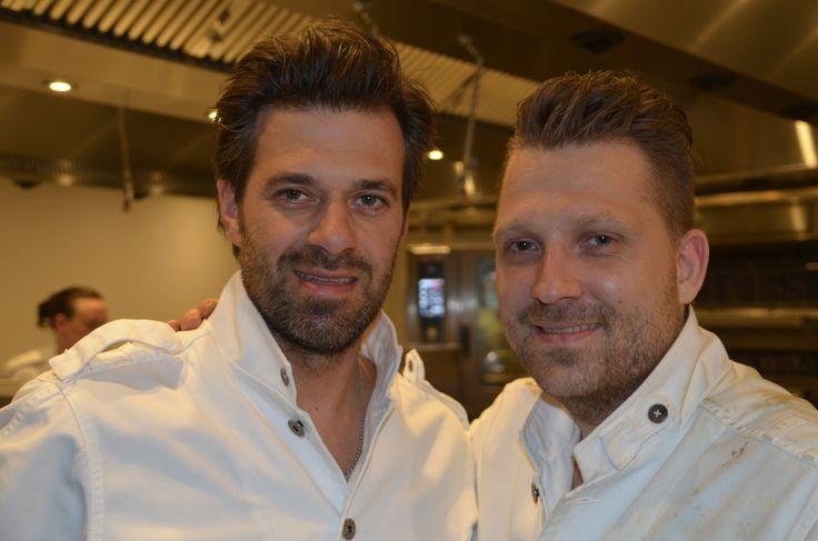 Sergio Herman en Nick Bril