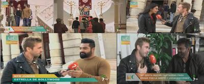 BSRmovieSetelugu: Latest News : NTR interviw by Spain Famous Channel...