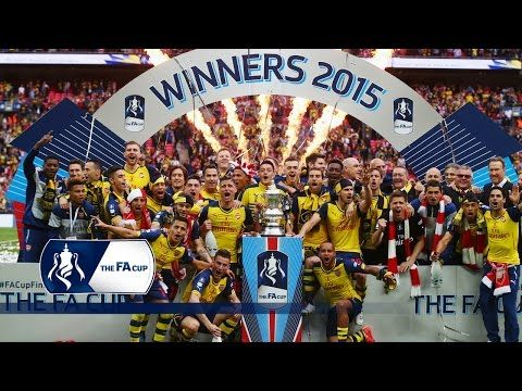 Arsenal 4-0 Aston Villa - 2015 FA Cup Final | Goals & Highlights