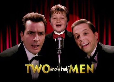 Two and a Half Men... great comedy... and loved Charlie Sheen... nhave to still see the Ashton Kutcher one... but lets just say am in no hurry...