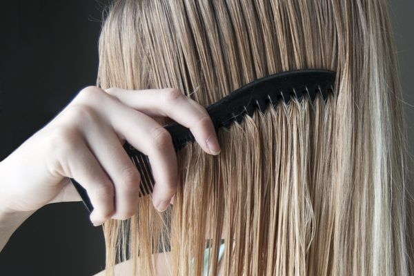 There are a couple of ways to lighten the color of your hair without using hair dye. Lemon juice and hydrogen peroxide are two products that can lighten hair. These coloring methods work best with dirty blond or light brown hair. Since lemon juice and hydrogen peroxide can dry out the hair, it's important to use a deep conditioning treatment at...
