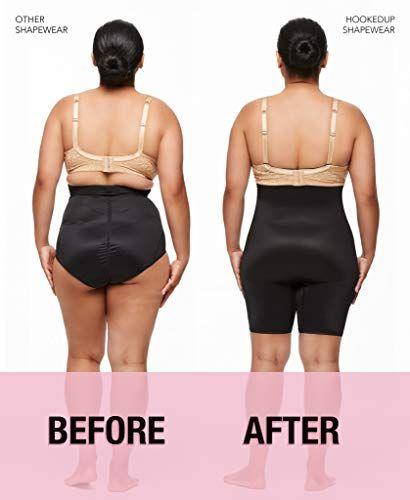 fcf60894daa HookedUp Women's Thong Shapewear Firm Control Slimming Body Shaper Tummy  Control High-Waist Shapewear Thong,#Shapewear, #Firm, #Control, #HookedUp