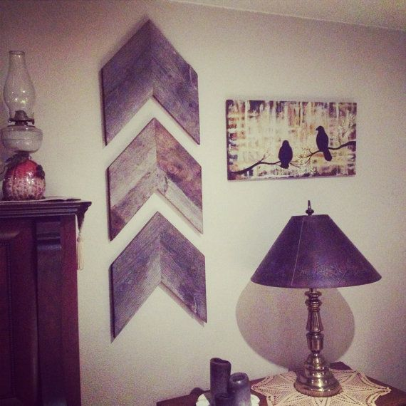 Affordable Rustic Wall Decor : Best ideas about chevron wall decor on