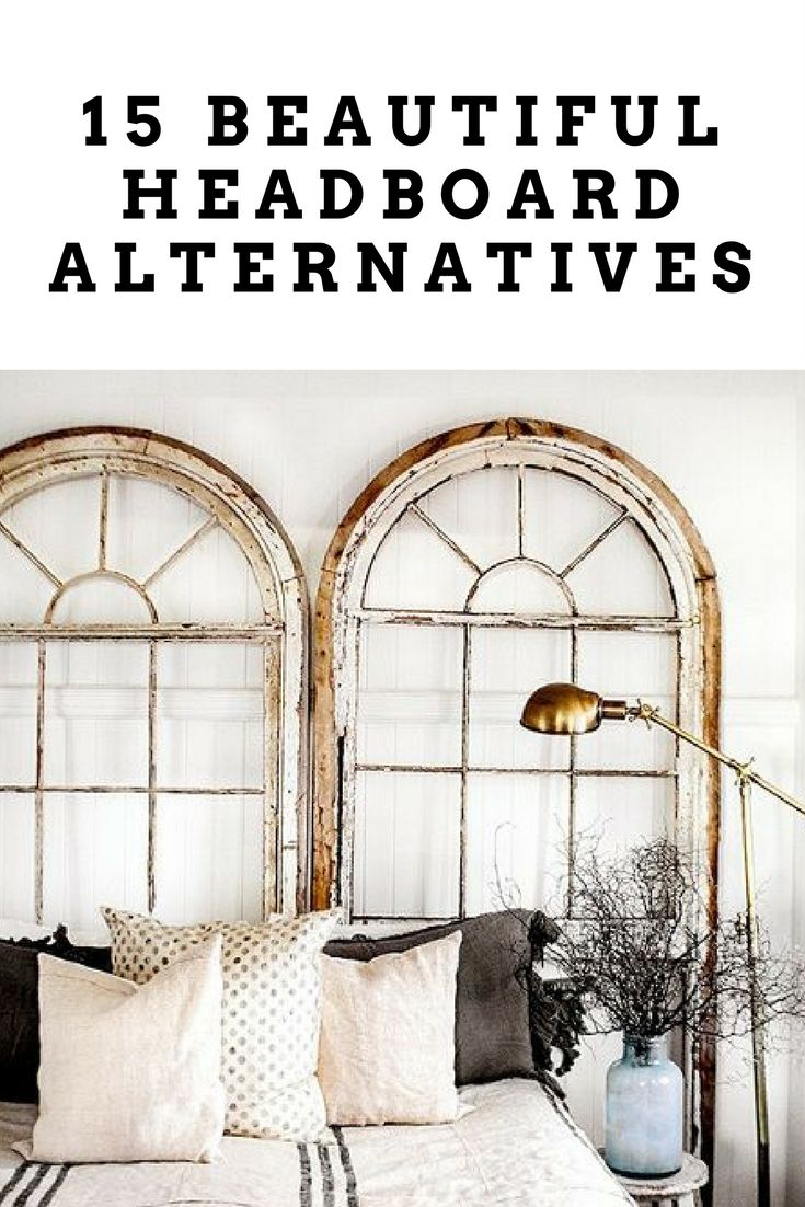 15 beautiful headboard alternatives traditional for Headboard alternatives