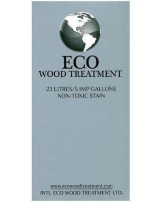 Intl Eco Wood Treatment Exterior Stain: Intl Eco Wood Treatment Finish 5-gal. Exterior/Interior Wood Stain and Preservative Silvery Patina EWT-5 from Home Depot | BHG.com Shop