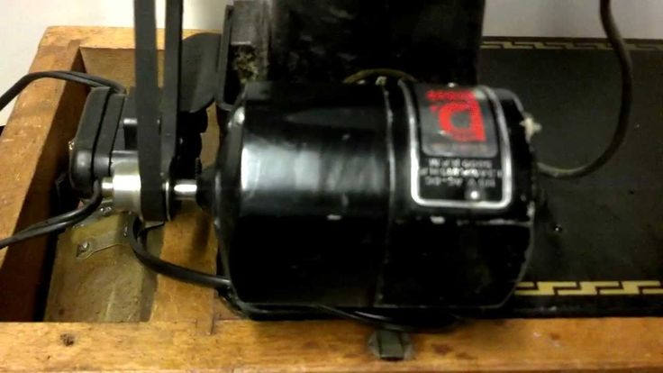 Serviced Before and After Refurbished Strong Vintage Pfaff 130 Sewing Ma...
