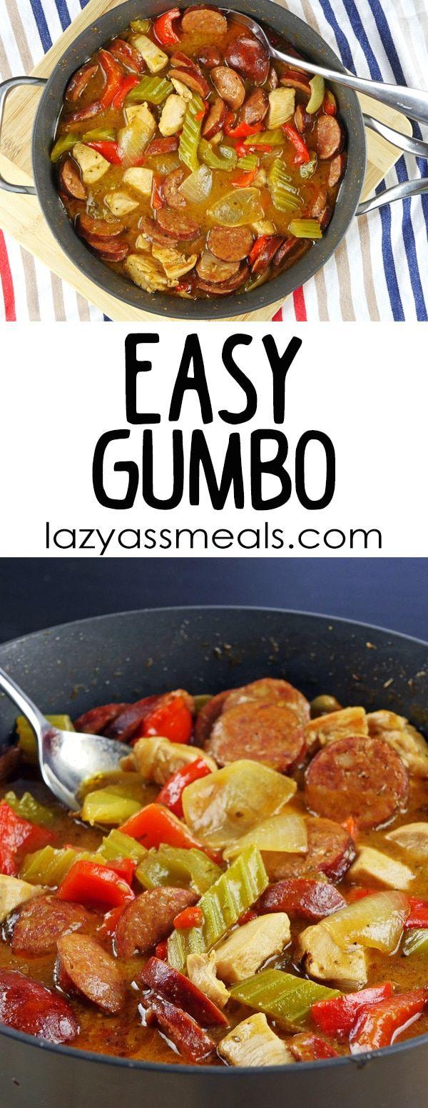 Easy Gumbo with Chicken & Chorizo