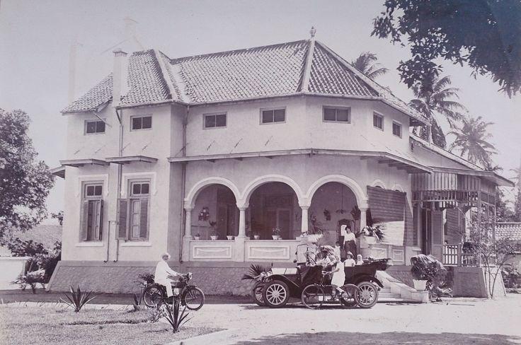 Overgrootouders Nederlands Indië 1919 (Kediri, Java)