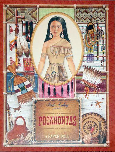 Pocahontas paper dolls by Peck Aubry - Nena bonecas de papel - Álbuns da web do Picasa... THIS IS A FREE BOOK!!