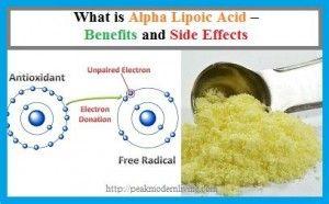 alpha lipoic acid benefits & side effects article