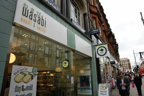 Photos for Wasabi   Yelp Wasabi 439 Oxford Street London W1C 2PN  Neighborhood: Marylebone 020 7493 6422  wasabi.uk.com    Nearest Transit Station: Bond Street, Marble Arch,  Oxford Circus   More Information  Hours: Mon-Wed 11 am - 11 pm Thu-Sat 11 am - 2 am Sun 11 am - 5 pm Attire: Casual  Accepts Credit Cards: Yes