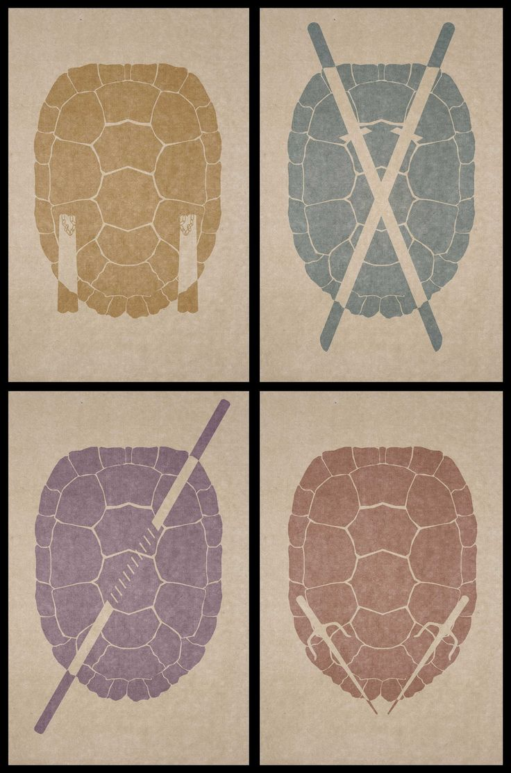 TMNT - This, THIS! needs to be somewhere in my house!  Maybe the kid's room... ... or the office ...