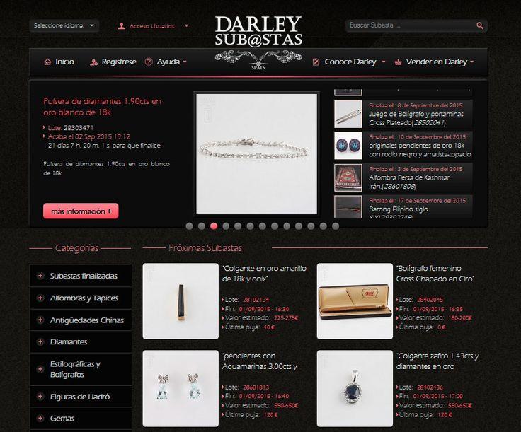 Para los que aún no lo sabéis, en #SubastasDarley subastamos artículos de #arte, #antigüedades, #joyas, #relojes, #Swarovski, #Lladró...   Entra en www.subastasdarley.com y conócenos.
