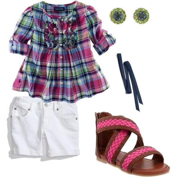 cute toddler summer outfit How cute are those sandles!!