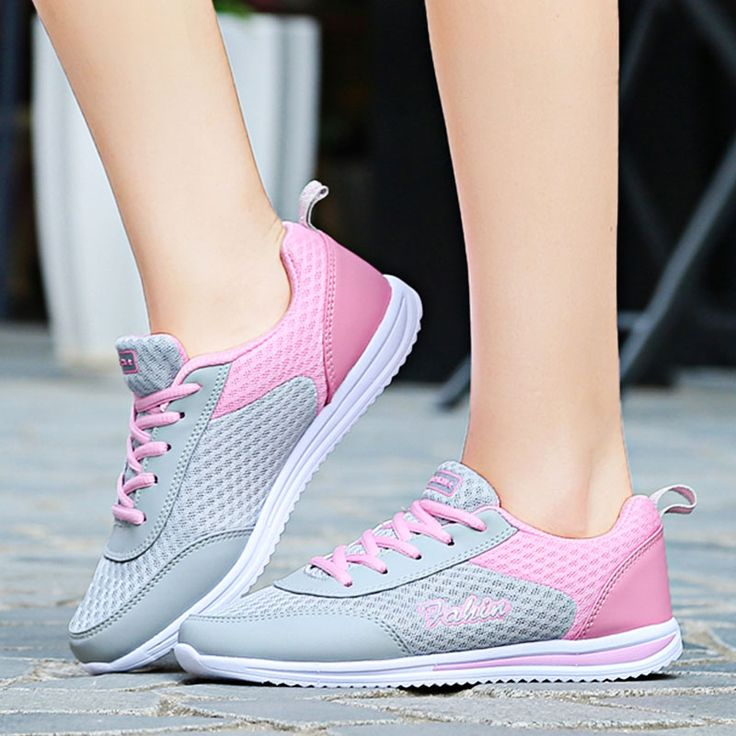New 2016 Summer Light Flat Womens Shoes Breathable Beach Woman Water Shoes Ladies Casual Lace-Up Flats zapatillas Super