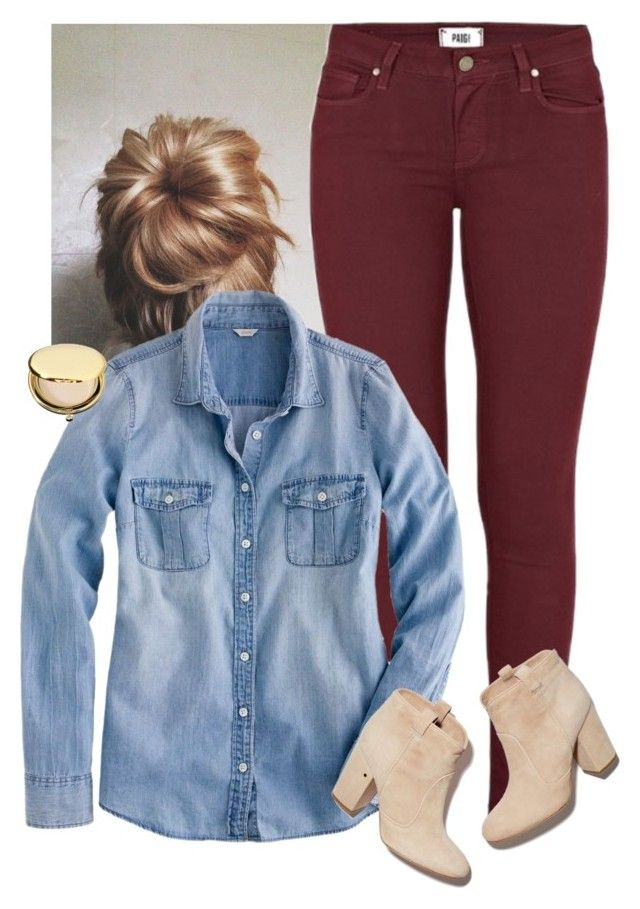 """""""Everyone deserves the chance to fly"""" by sydneymellark ❤ liked on Polyvore featuring Paige Denim, J.Crew, Laurence Dacade, Estée Lauder, women's clothing, women, female, woman, misses and juniors"""
