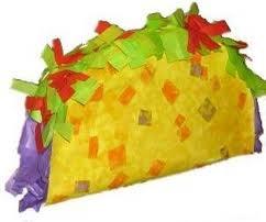 Muy Yummy Taco Pinata