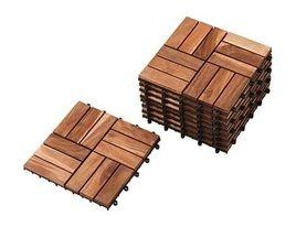 wood floor tiles- Ikea
