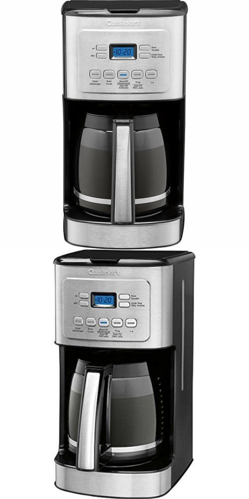 Filter Coffee Machines 184665 Cuisinart Cbc 6400pc Brew Central 14 Cup Programmable Coffeemaker Stainless Ste Filter Coffee Machine Coffee Maker Filter Coffee
