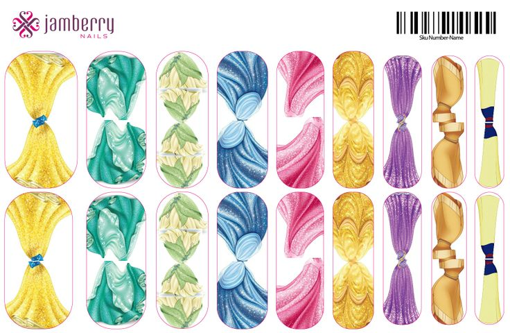 Princesses Nicole Jessop, Independent Jamberry Nail Consultant - Shop at: http://nicjessop.jamberrynails.net