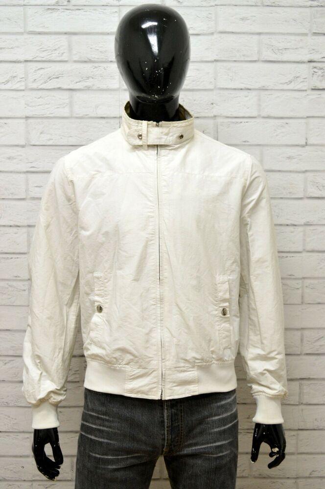 GIUBBOTTO NERO UOMO REFRIGUE Taglia Size L Giacca Jacket Man
