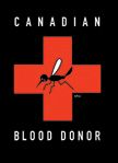 "Magnet - Canadian Blood Donor - High Quality Magnet. 3.5"" x 2.5"". Made in Canada. $4.29"