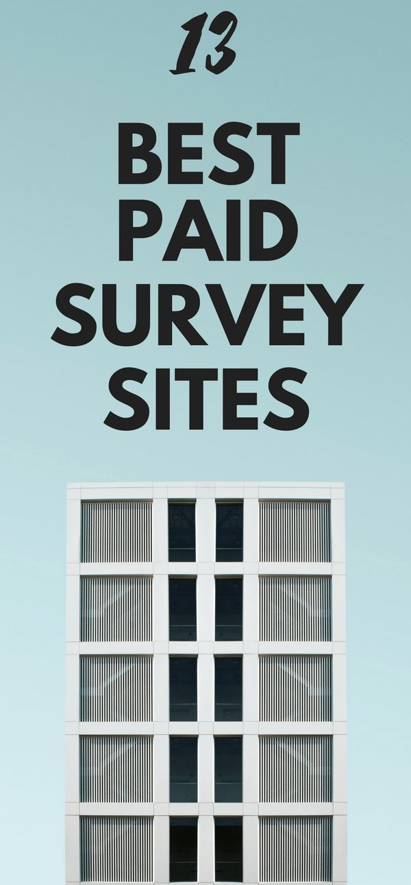 13 Best paid survey sites to make money online and work from home