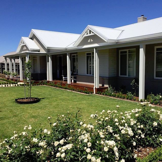 Home Design Ideas Australia: Australian Hampton Style Render & Weatherboard