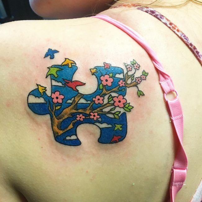 35 Wonderful Autism Tattoo Ideas - Showing Awareness and Honor