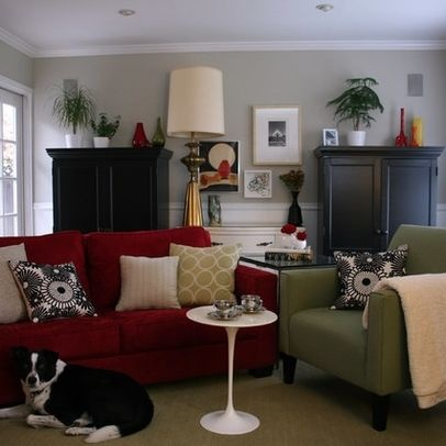 31 best Apartment ideas Red couch images on Pinterest Living