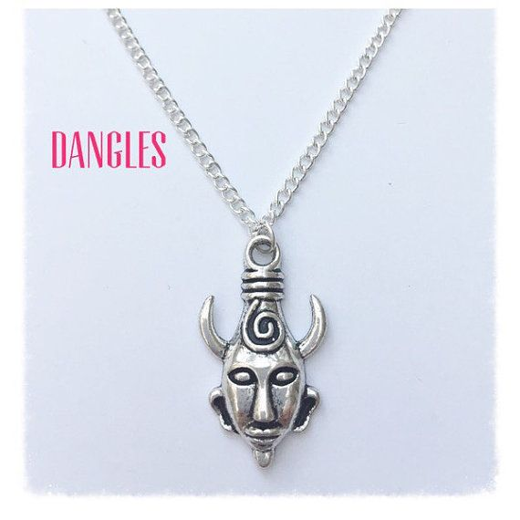 Demon Necklace Ref DB4 by DanglesBoutique on Etsy